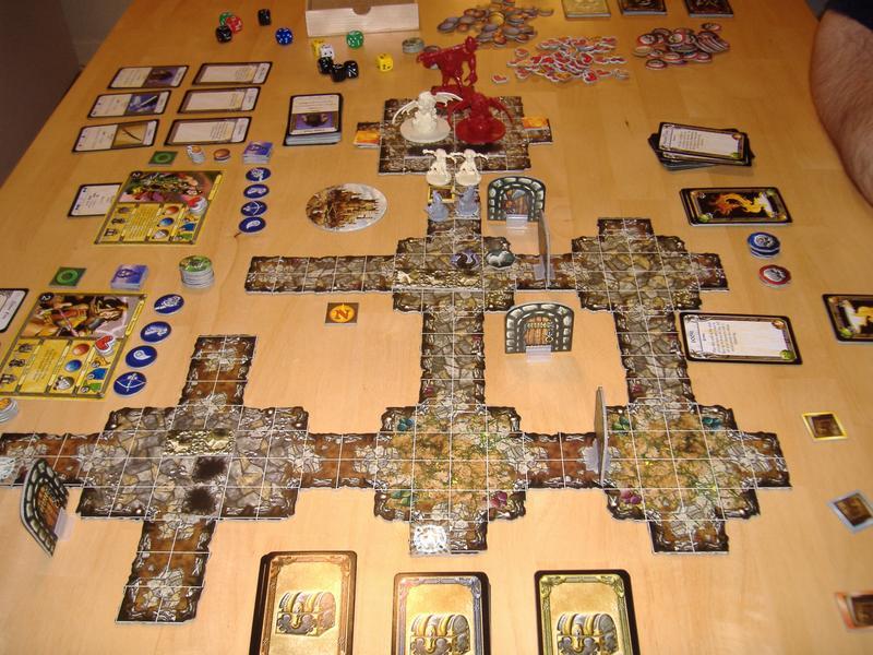 rese a descent journeys in the dark el juego de mesa